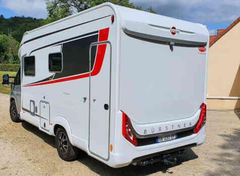 camping-car  BURSTNER LYSEO TD 680G  extérieur / arrière
